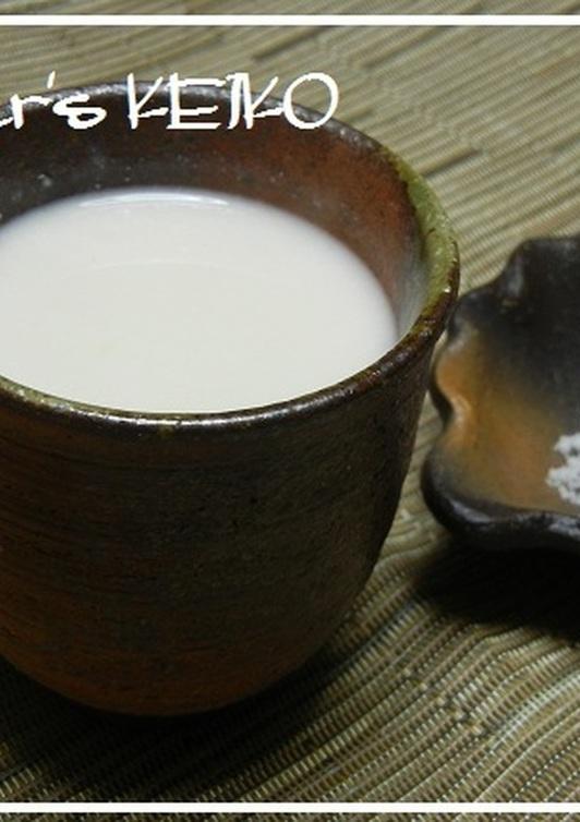 (農家のレシピ)酒粕の甘酒