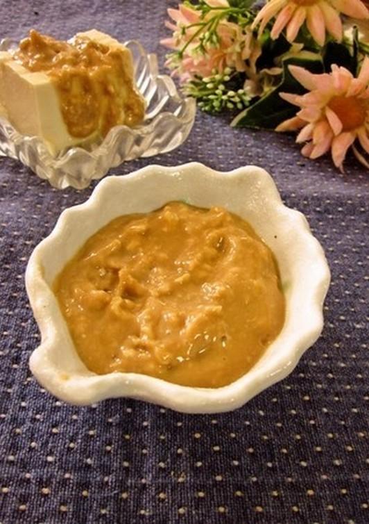 万能・酒かすの味噌マヨしょう油タレ