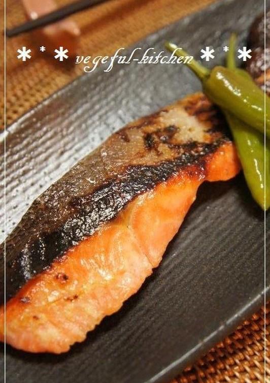 お花見弁当に 柚子胡椒香る鮭の塩麹焼き