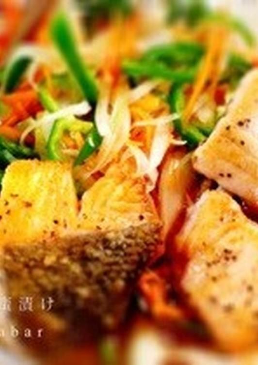 揚げない 秋鮭の南蛮漬け 野菜たっぷり