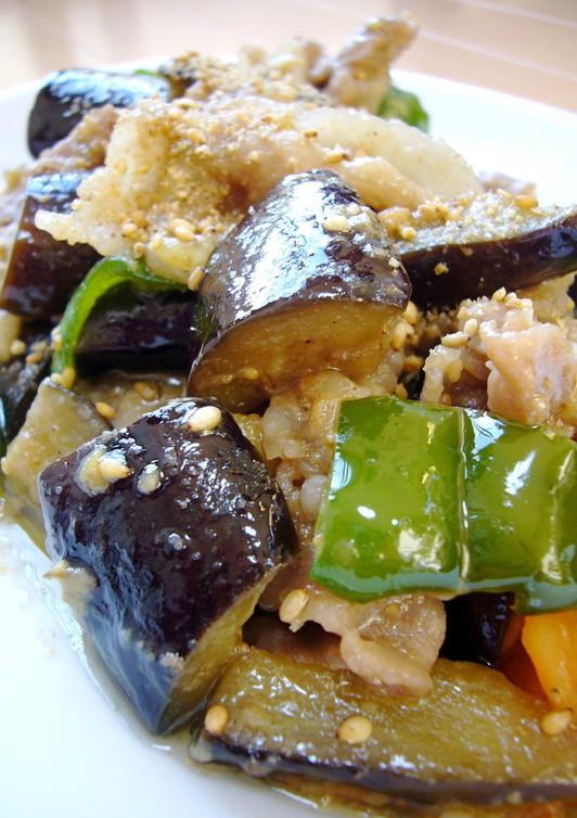簡単 ご飯が進む 豚肉となすの味噌炒め