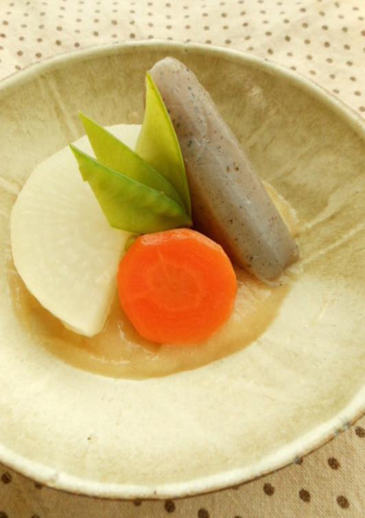 さっぱり柚子味噌かけ