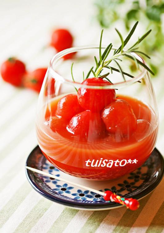 冷やしダブルトマト
