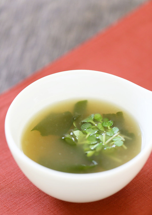 簡単 わかめスープ中華風