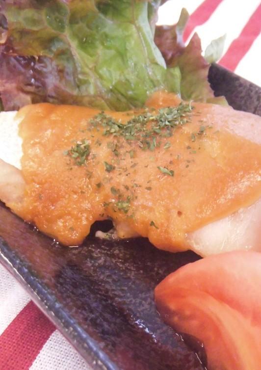 魚の味噌マヨ焼き