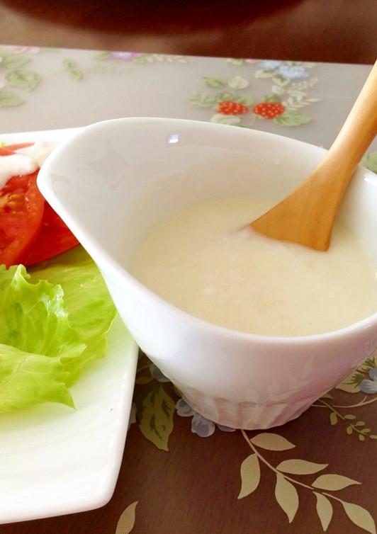 塩麹のヨーグルトドレッシング
