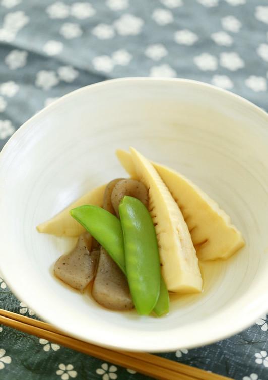 筍と蒟蒻の炊き合わせ煮