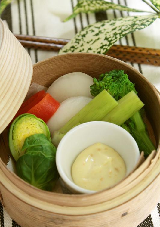 季節の温野菜サラダ