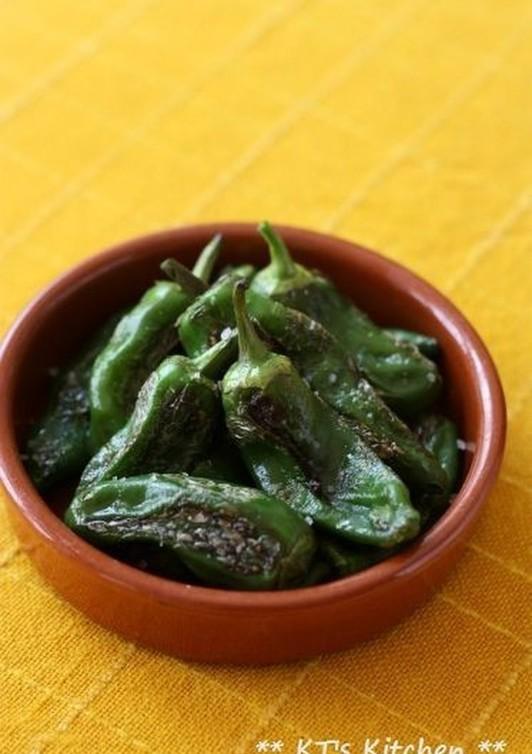 スペイン唐辛子(しし唐)の好きな食べ方