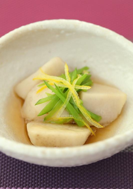 ほんのり柚子香る里芋煮物