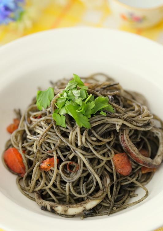 おうちでつくるスパゲッティ・ネ~ロ