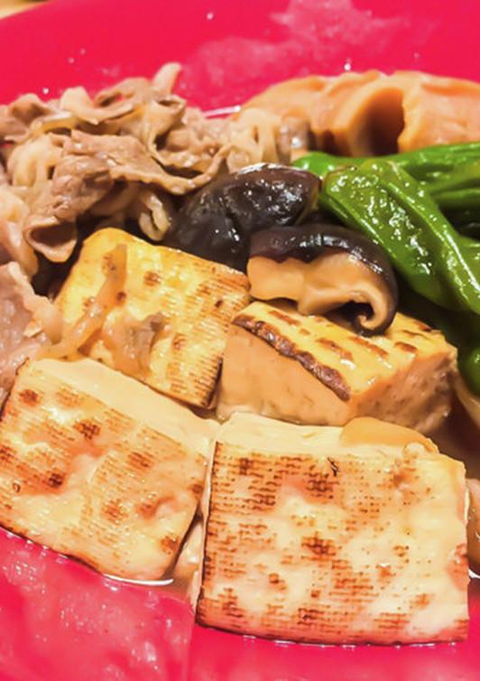 ボリュームたっぷり ごちそう肉豆腐