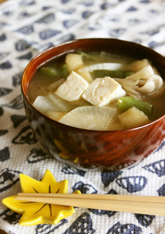秋田の郷土料理 納豆汁