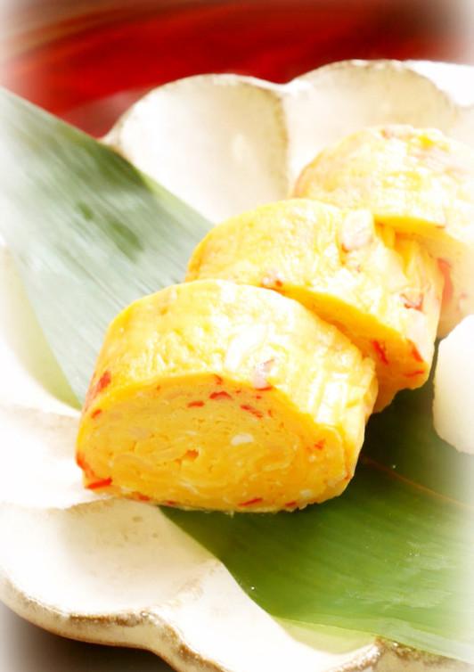 蟹かま入り卵焼き