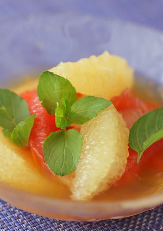 グレープフルーツのティーマリネ