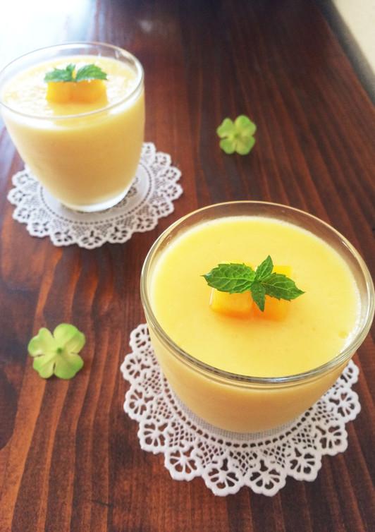 冷凍マンゴーで簡単 マンゴームース
