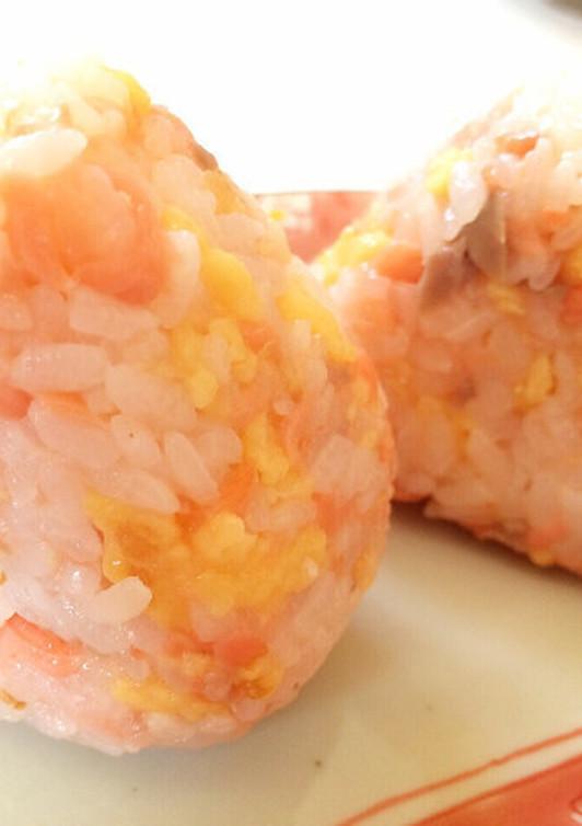 シャケと玉子の酢飯ゴハン