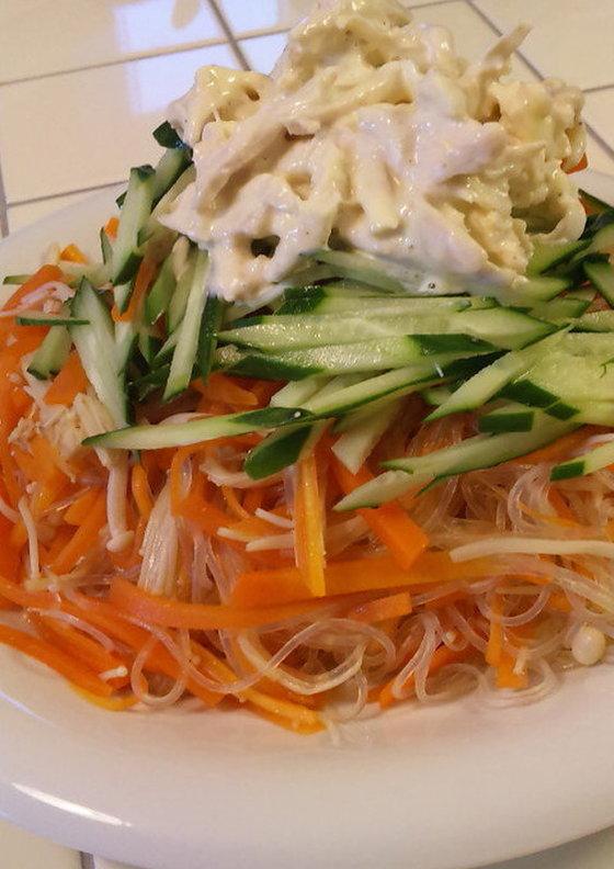 野菜ボリュームサラダ