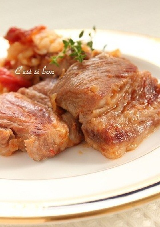 塩麹で豚肉とキャベツの煮込み