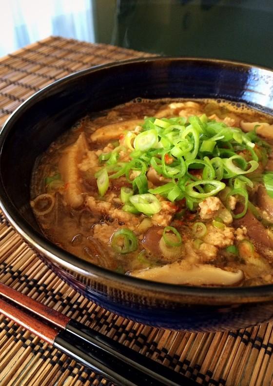 ダイエットに 坦々風春雨スープ