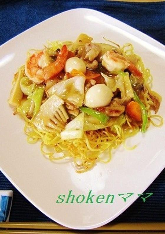パリッと美味しい うちのあんかけ焼きそば By Shokenママ 管理栄養士