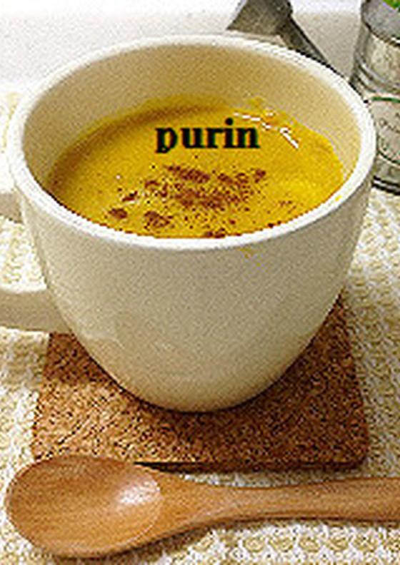 濃厚 かぼちゃ汁粉