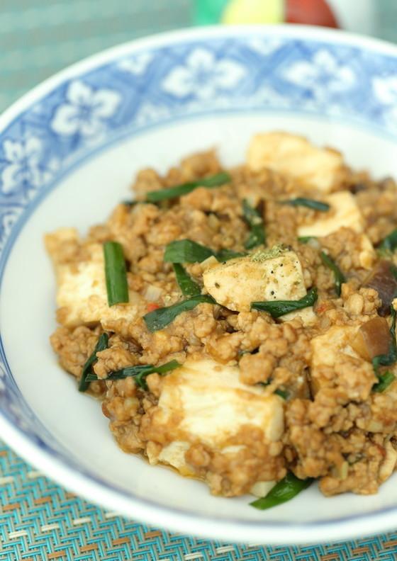やさしいお味の麻婆豆腐