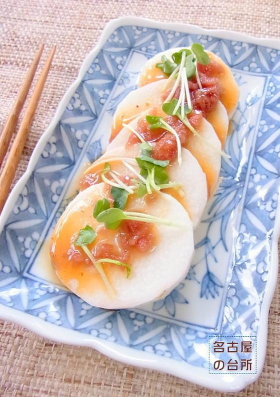 梅シソのシャキシャキ長芋サラダ