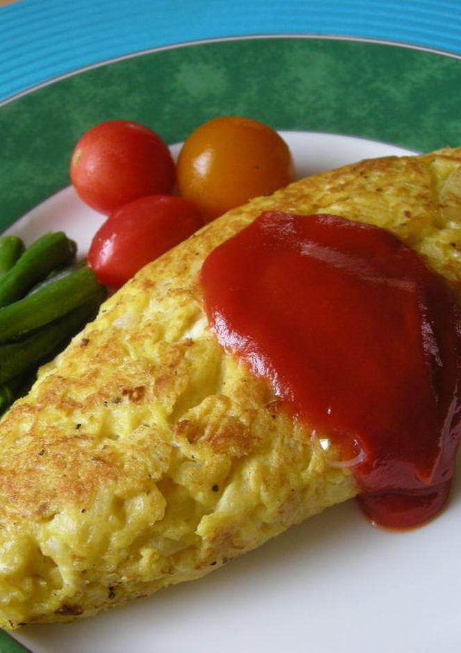 卵1個でふわっふわじゃがオムレツ