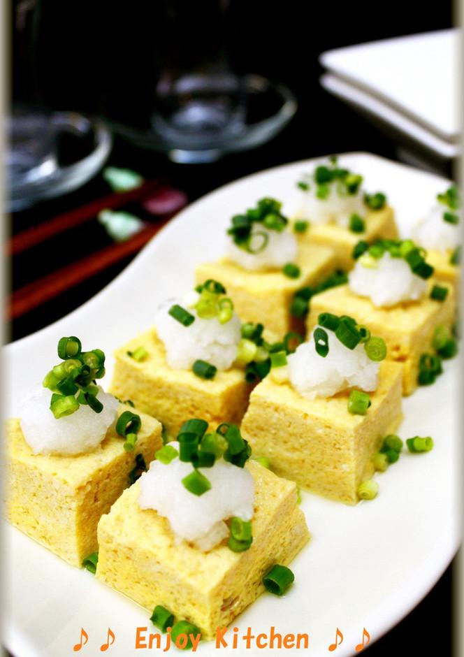 レンジで簡単 豆腐入りふんわりだし卵