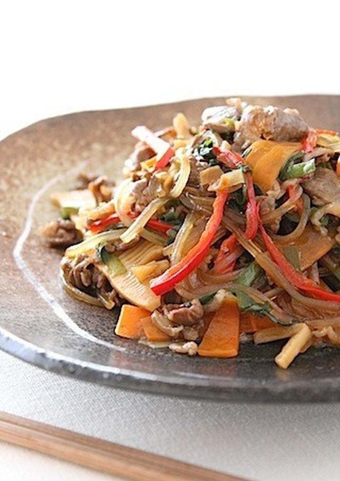 簡単 韓国料理 チャプチェ