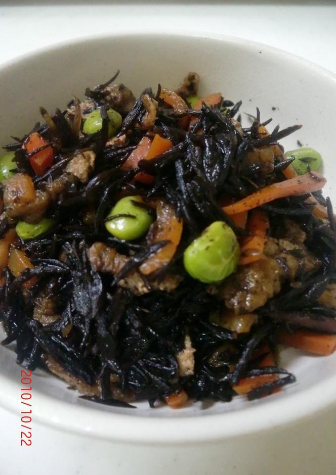簡単 ひじきの煮物