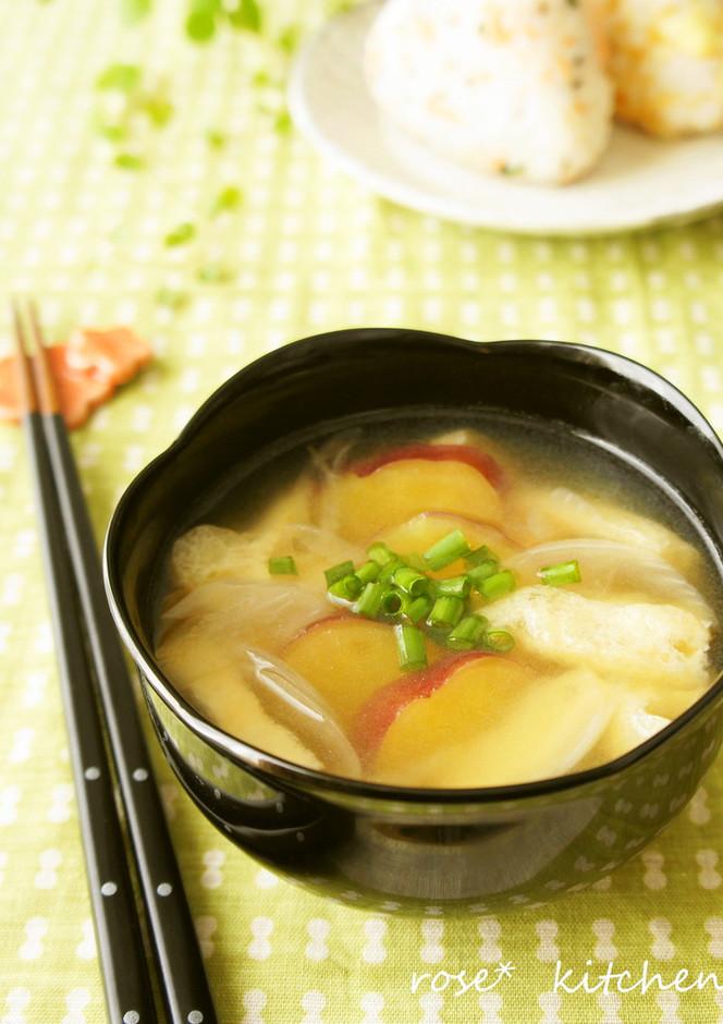 サツマイモのお味噌汁