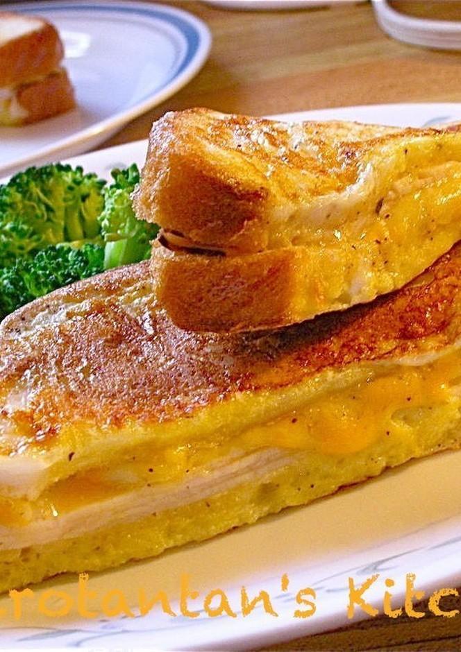 朝食にモンティクリスト