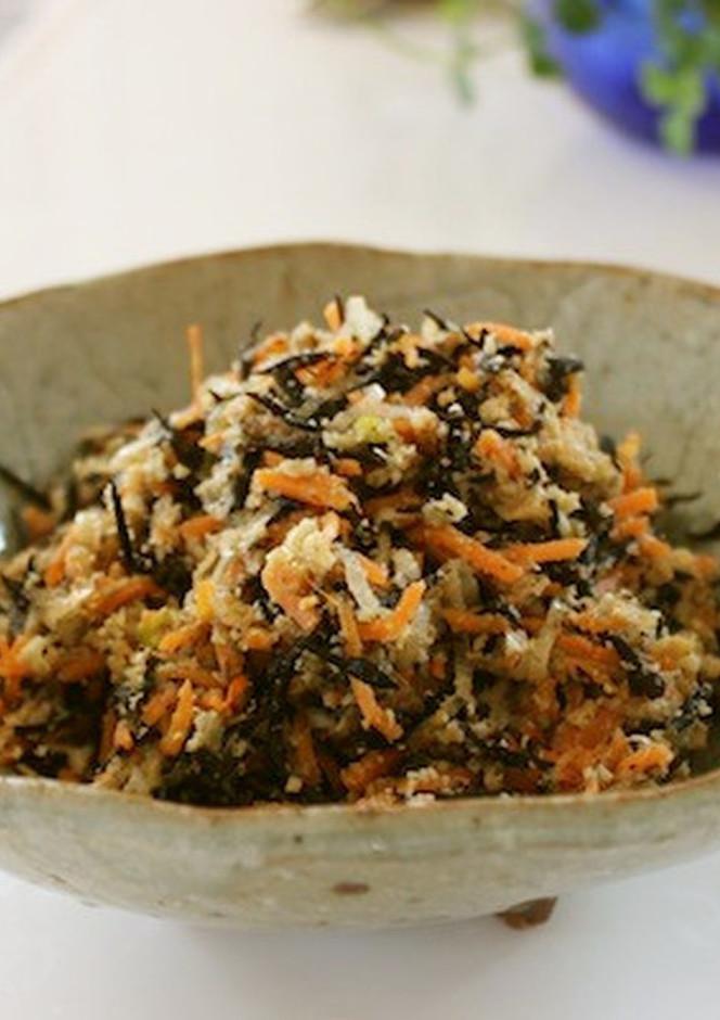 常備菜 ひじきとおからの煮物