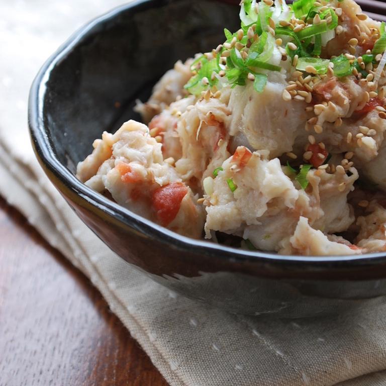 里芋のウメサラダ