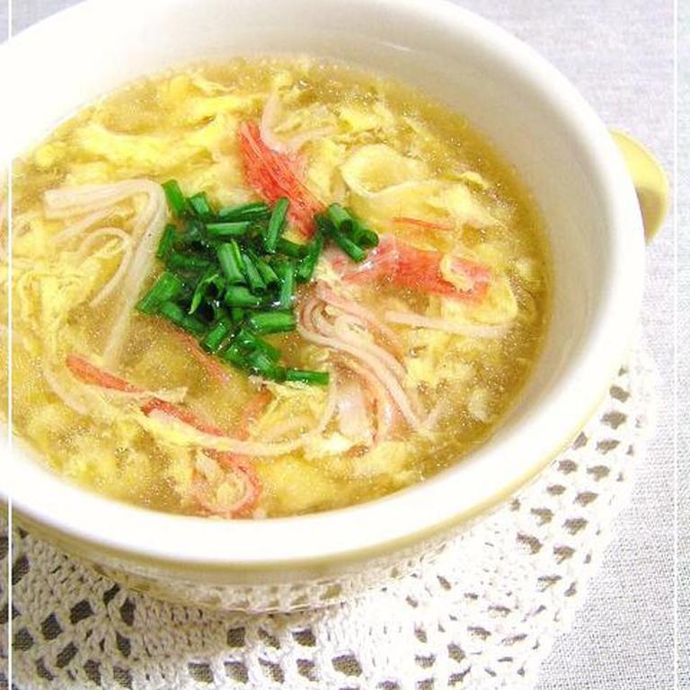 カニ玉みたいなふわふわスープ