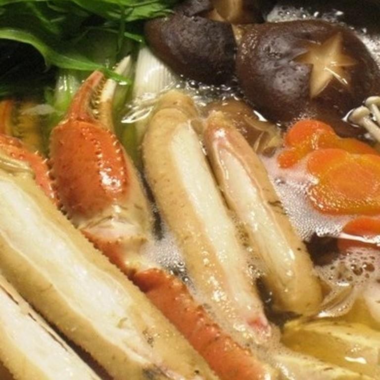 カニすき(カニ鍋)