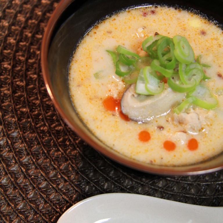 濃厚 ピリ辛豆乳坦々スープ