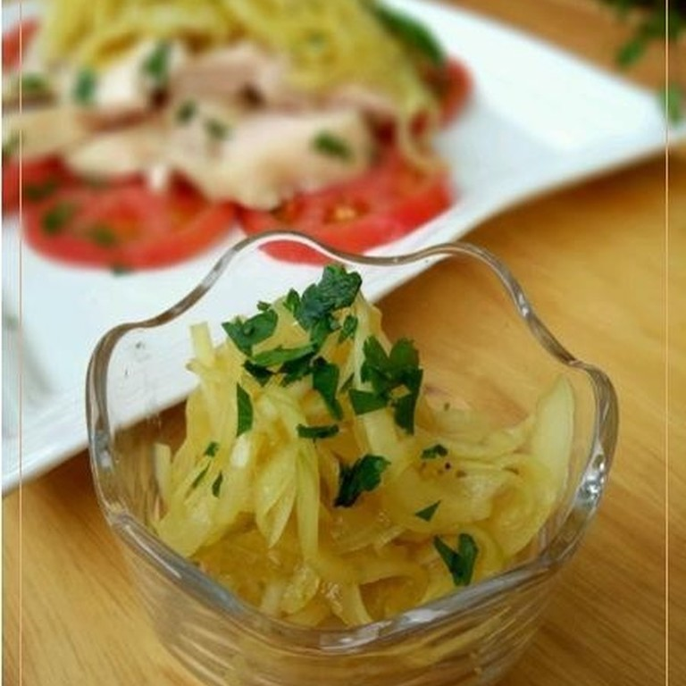 新玉ねぎの塩麹カレーマリネ