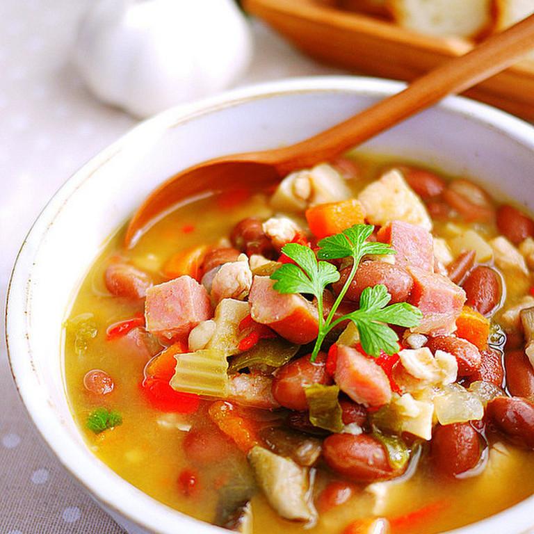 食べるスープ 金時豆の洋風煮