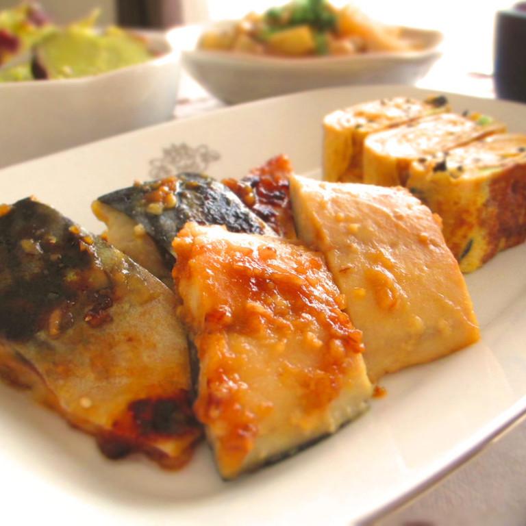 お弁当に魚を ごはんがすすむ鯖の味噌焼き