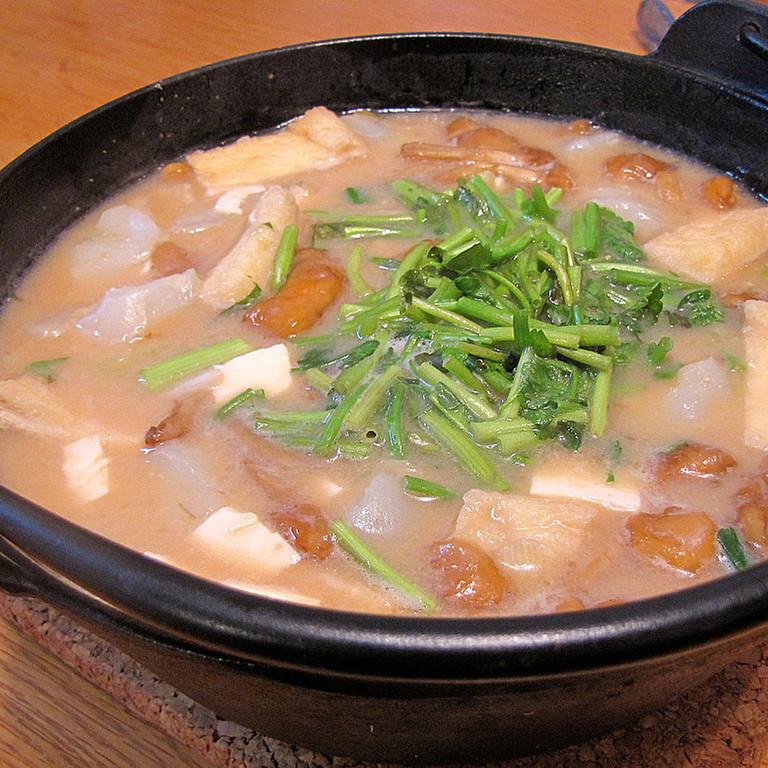 山形の郷土料理 納豆汁