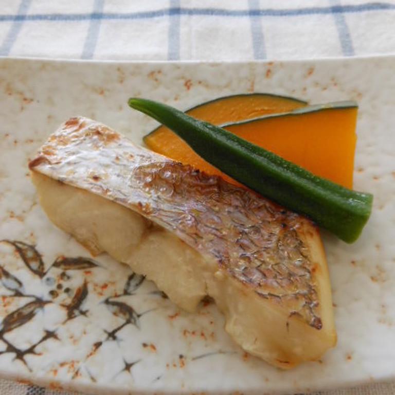 鯛の塩麹焼
