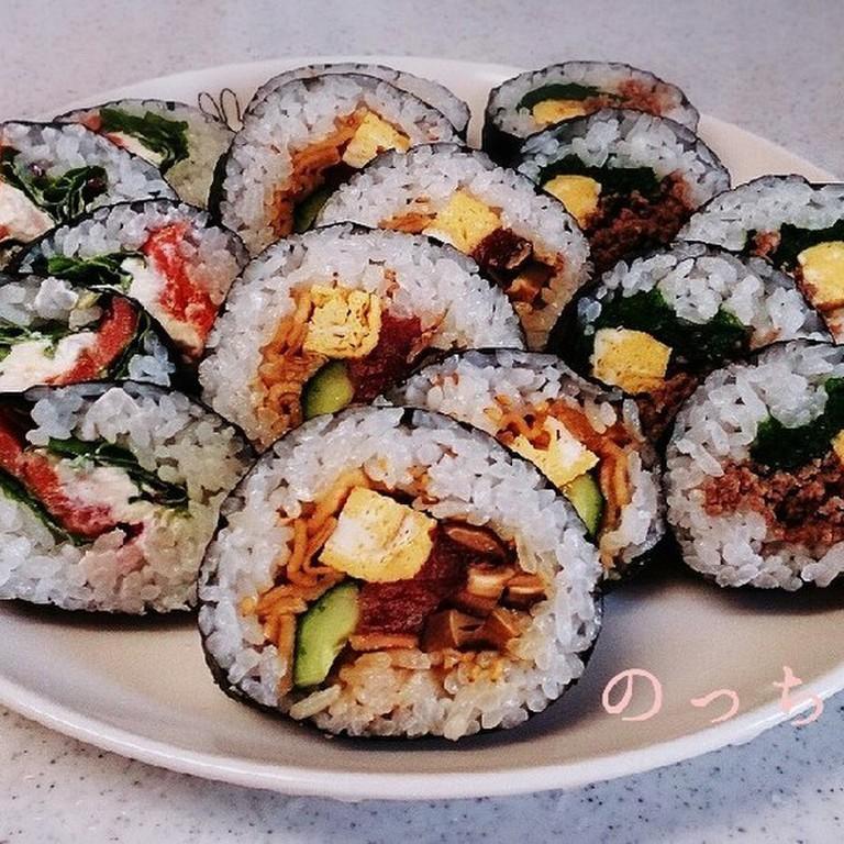 和食の定番巻き寿司 恵方巻き・太巻き