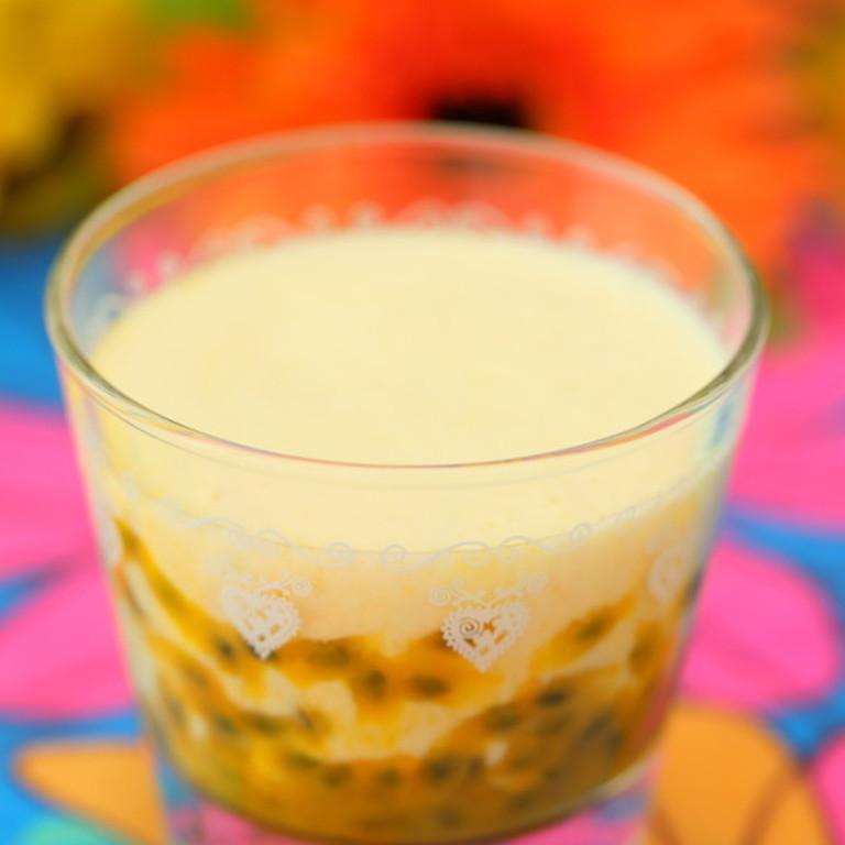 トロピカルつぶつぶフルーツ牛乳❉