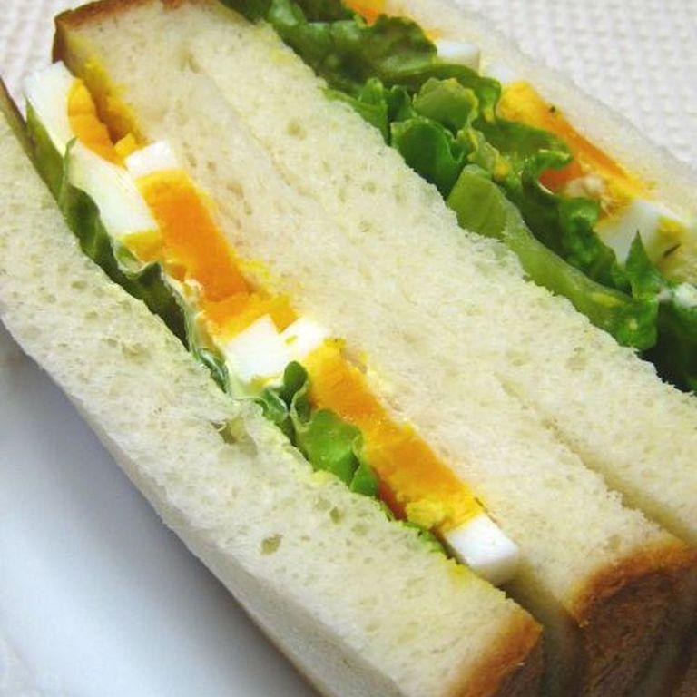 ほんわか優しい ゆで卵のサンドイッチ